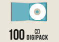 100 CD Digipack