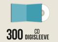 300 CD Digisleeve